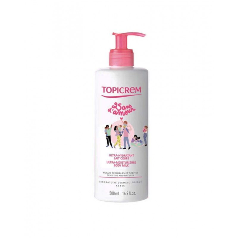 Topicrem Ultra Moisturizing Body Milk 500 ml