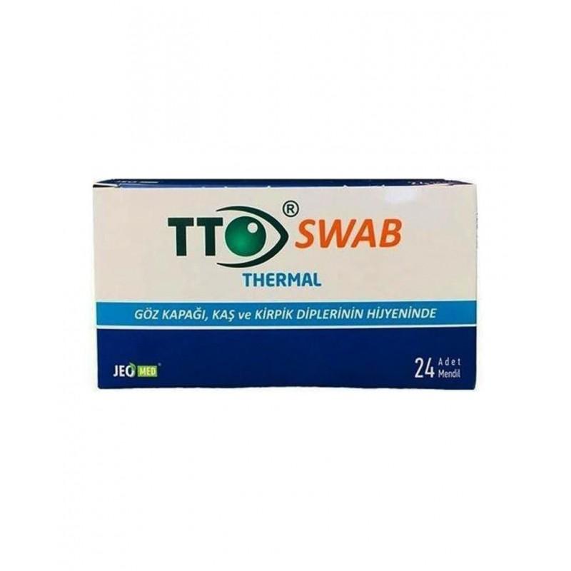 TTO Thermal Swap Göz Mendili 24 Adet