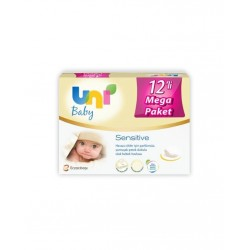 Uni Baby Sensitive 56 Yaprak 12'li Islak Havlu