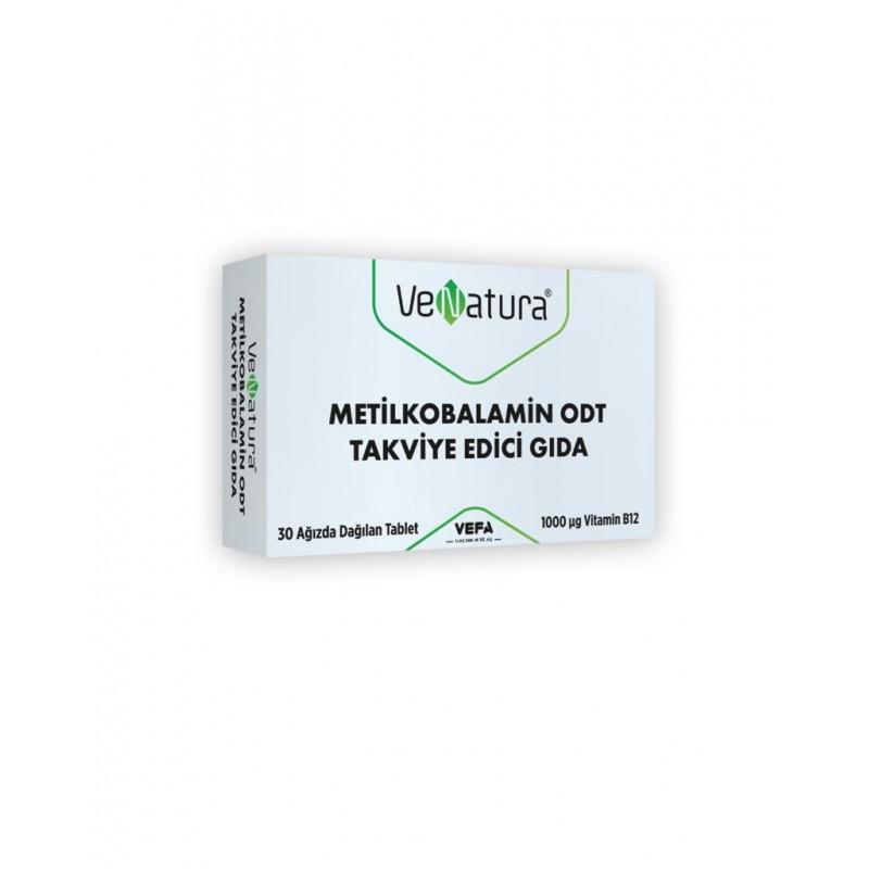 VeNatura B12 Metilkobalamin 30 Tablet