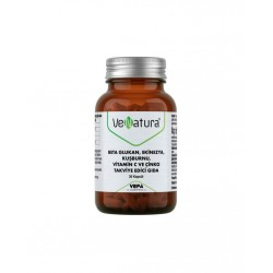 VeNatura Beta Glukan, Ekinezya, Kuşburnu, Vitamin C ve Çinko 30 Kapsül