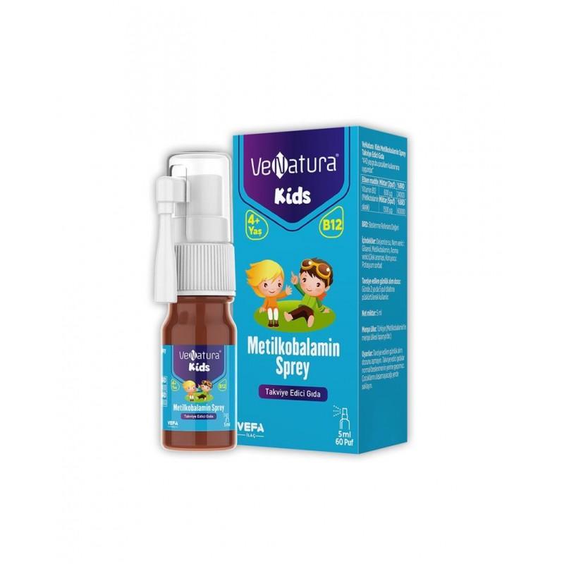 VeNatura Kids Metilkobalamin Sprey 5 ml