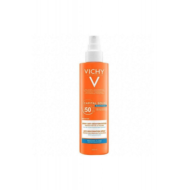 Vichy Capital Soleil Yüz ve Vücut Spreyi Spf50 200 ml