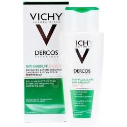 Vichy Dercos Anti-Dandruff Sensitive 200 ml Kepek Arındırıcı Şampuan
