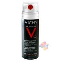 Vichy Homme Deo Spray 72h 150 ml