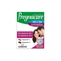 Vitabiotics Pregnacare Him & Her Conception 60 Tablet