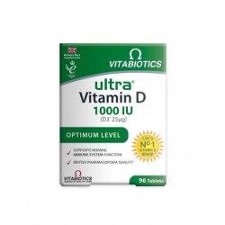 Vitabiotics Ultra Vitamin D 1000 IU 96 Tablet