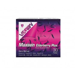 Vitawin Maxiwin Elderberry Plus (Kara Mürver) 30 Tablet