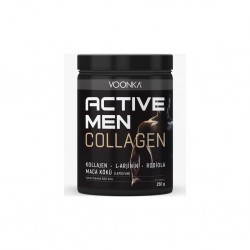 Voonka Collagen Active Men 250 gr - Yeşil Elma