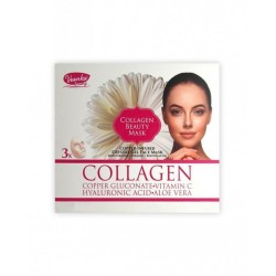 Voonka Collagen Beauty Mask 3 Adet