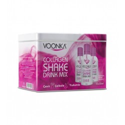 Voonka Collagen Beauty Shake Portakal ve Şeftali 15 x 50 ml
