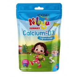 Voonka Kids Niloya Gummies Calcium D3 Çiğnenebilir 30 Adet