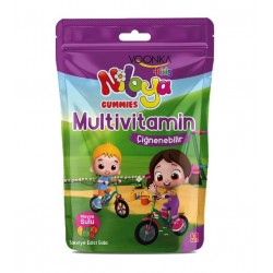 Voonka Kids Niloya Gummies Multivitamin Çiğnenebilir 60 Adet