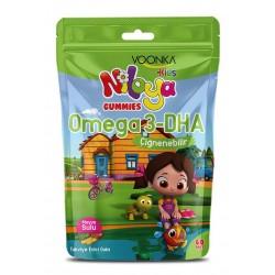 Voonka Kids Niloya Gummies Omega 3 DHA Çiğnenebilir 60 Adet