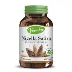 Voonka Nigella Sativa (Çörek Otu Yağı) 62 Kapsül