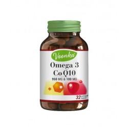 Voonka Omega 3 Koenzim Q10 32 Kapsül