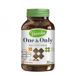 Voonka One & Only Multivitamin 32 Kapsül