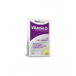 Wellcare Vitamin D3 1000'lü 5 ml