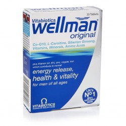 Vitabiotics Wellman 30 Tablet