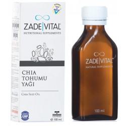 Zade Vital Chia Tohumu Yağı 100 ml