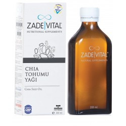 Zade Vital Chia Tohumu Yağı 200 ml