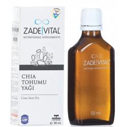 Zade Vital Chia Tohumu Yağı 50 ml