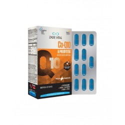 Zade Vital Co-Q10 & Prebiyotik 30 Kapsül