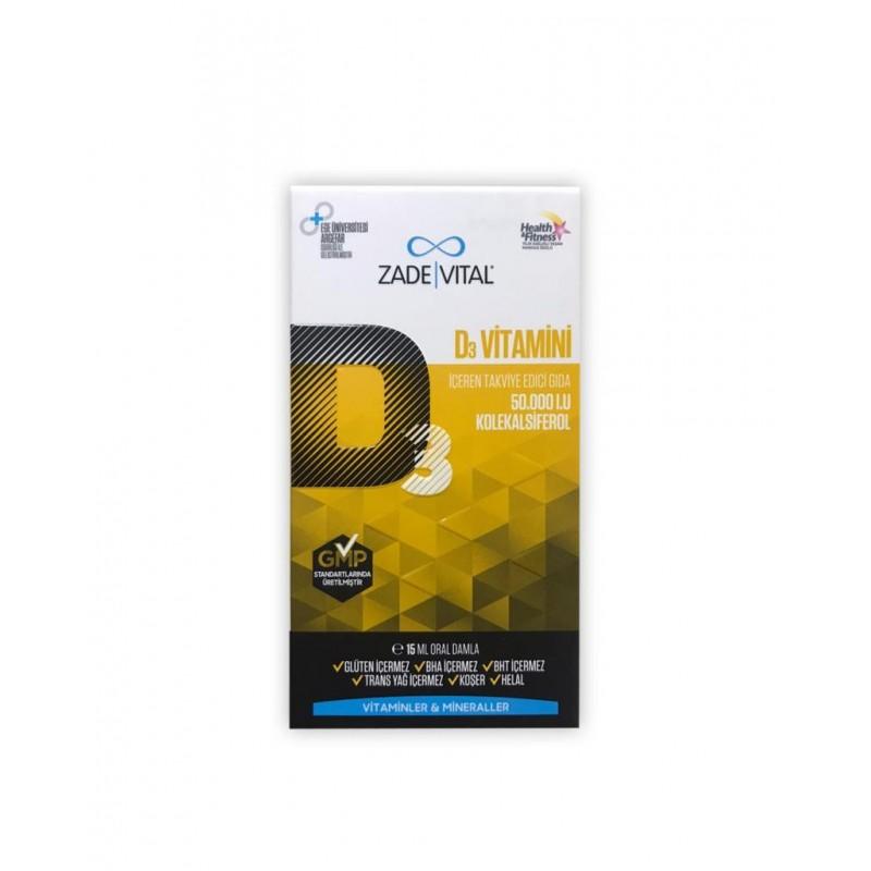 Zade Vital D3 Vitamini Oral Damla 15 ml