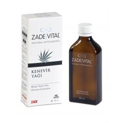 Zade Vital Kenevir Tohumu Yağı 200 ml