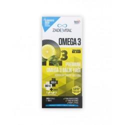Zade Vital Omega 3 Balık Yağı Şurubu Limon Aromalı 100 ml