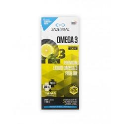 Zade Vital Omega 3 Balık Yağı Şurubu Limon Aromalı 200 ml