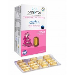 Zade Vital Omega 3 Premium Pregnancy 30 Kapsül