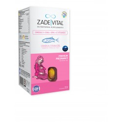 Zade Vital Omega 3 Premium Pregnancy 50 Kapsül