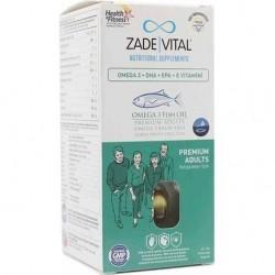 Zade Vital Premium Omega 3 Balık Yağı Yetişkinler İçin 50 Kapsül