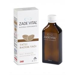 Zade Vital Tatlı Badem Yağı 200 ml